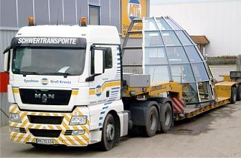 Schwertransporte und Überbreitentransporte